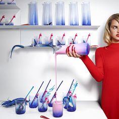 GILTIG servies | #nieuw #limited #collectie #KatieEary #IKEA #IKEAnl #kleurrijk #blauw #rood