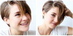 shailene woodley - short hair cut love