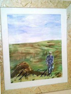 Auftragsarbeit- 'Dedem' - 2.0 Acryl/ Aquarell/ Öl im Rahmen #artwork #art🎨 #artist #kunst #künstlerin #newartist #newcomer #ipearts #follow4follow #resam #resamcı #gold #altın #acrylmalerei #ölmalerei #gemälde #aquarell #bilderrahmen #aquarellmalerei #dedem #opa #grandfather #pharmacist #pharmazeut #eczacı #otherpassion #passion #leidenschaft #sanat