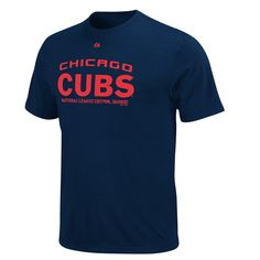 Chicago Cubs Navy Bases Loaded T-Shirt by Majestic