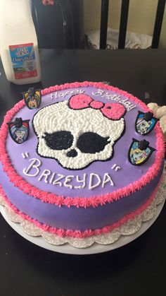 Beautiful Photo of Monster High Birthday Cakes Monster High Birthday Cakes Monster High Cake Cakes Monst Tortas Monster High, Bolo Monster High, Monster High Birthday Cake, 6th Birthday Cakes, Monster High Party, Birthday Cake Girls, Birthday Ideas, Birthday Parties, Harry Potter Birthday Cake