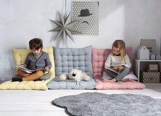 Ideas para crear un rincón de lectura para niños. Cómo crear una zona de lectura en la habitación infantil. Fotos, inspiración.