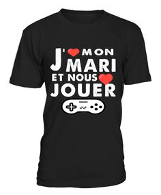 tshirt gamer et mari Marie, Mens Tops, T Shirt, Women, Fashion, Originals, Supreme T Shirt, Moda, Tee