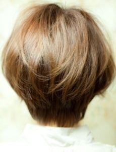укладка для средних волос фото