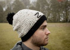 Hand Knitted tuque by Clara Zaccardelli