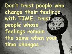 Don't trust so easily...!