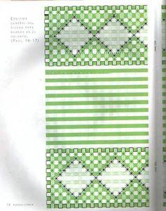 Bordado xadrez da net II - margareth mi3 - Picasa Web Albums