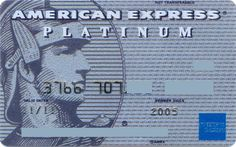 American Express Platinum US 376670 (American Express, United States of America) Col:US-AE-0137