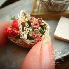 Canasta de flores ♡ ♡ By Sanae Taira