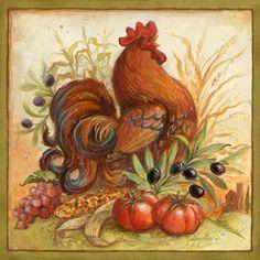 Medium   this site has lots of wonderful roosters
