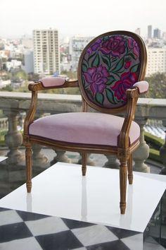 con Cuscino Sedia Pieghevole a Mosaico Colore: Beige per Interni ed Esterni FineHome