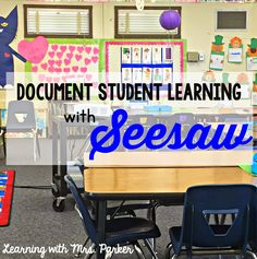 Learning With Mrs. Parker: Document Student Learning with SeesawEdu Teaching Technology, Technology Integration, Educational Technology, Teaching Tools, Teaching Ideas, Educational Leadership, Project Based Learning, Student Learning, Seesaw App