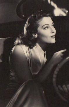 Beautiful Ava Gardner, 40's -#50's actress