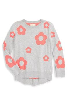 Tucker + Tate High/Low Knit Sweater (Toddler Girls, Little Girls & Big Girls) available at #Nordstrom