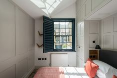 Positioned on amidst a terrace of restored Georgian houses on Roupell Street, one of Central London's most recognisable streets, is this immaculately reconsidered two-bedroom house by the award-winning Fraher Architects. Victorian House Interiors, Victorian Homes, Interior Design Business, Interior Design Inspiration, Room Inspiration, Design Ideas, Dark Accent Walls, Mad About The House, Two Bedroom House