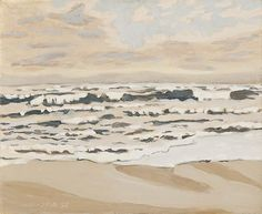 Morning After a Storm (1973) © Michael Rosenfeld #oceans #beaches #waves
