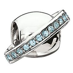 I love Swarovski jewelry. This blue orbit bead is awesome