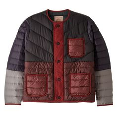 Patagonia Worn Wear ReCrafted Down Jacket Black / Maroon - Used - Better than new. Buy used and vintage Patagonia through our Worn Wear program. Patagonia Outfit, Patagonia Down Sweater, Urban Fashion, Mens Fashion, Sporty Fashion, Ski Fashion, Fashion Vest, Ethical Fashion, Fashion 2020