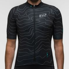 This lightweight performance oriented cycling jersey features the contour lines of Melbourne's most popular road cycling hill climb - The 1 in 20 which winds i Bike Wear, Cycling Wear, Cycling Jerseys, Cycling Bikes, Cycling Outfit, Road Cycling, Cycling Equipment, Cycling Clothing, Mountain Bike Accessories
