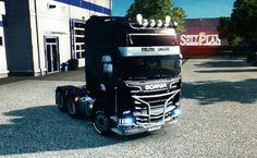 Scania Streamline Topline 6x4 by Lukynix Designs   #scania #streamline #lukynix #lukynixdesigns #truckdesign #truck #eurotrucksimulator2