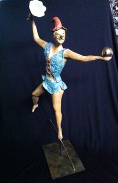 Circus . A beautiful bronze   2 pieces available