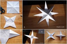 Xmas Decorations, Christmas Holidays, Origami, Handmade, Home Decor, Macrame, Ideas, Xmas, Christmas Decorations