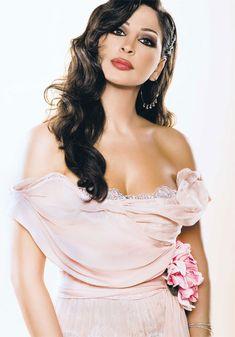 *-*Most Beautiful Arabian Women list- Elissa - Lebanon Beautiful Arab Women, Most Beautiful, Arab Celebrities, Celebs, Arabian Women, Singer Fashion, Arab Girls, Bella, One Shoulder Wedding Dress