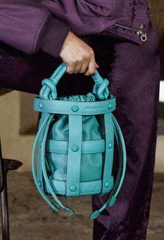 New Bag, Salvatore Ferragamo, Luxury Branding, Leather Bag, Fashion Show, Crossbody Bag, Bucket Bags, Handbags, Undercover