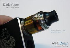 Drip tip Dark Vapor pour Goblin Mini (V1 & V2)