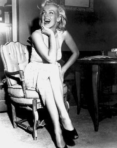 Marilyn Monroe photographed by Bob Beerman, 1953.
