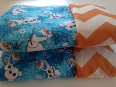 FROZEN/OLAF Reversible Outdoor Blanket/Picnic Blanket/Beach Blanket/Playmat - Monogramming Available. Pick Your Own Fabrics! on Etsy, Sold