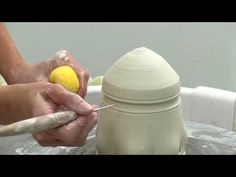 Amelia Stamps shares how to make a clay jar in one piece on the potters wheel, plus a great way to prevent cracking in the lid.