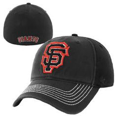San Francisco Giants '47 Brand Coffman Closer Flex Hat - Black