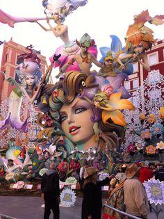 The Fallas Festival - Valencia Celebration Around The World, Valencia Spain, Geek Art, Travel Aesthetic, Street Art, Spanish, Geek Stuff, Around The Worlds, Sculpture