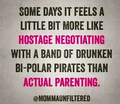Drunken bi-polar pirates