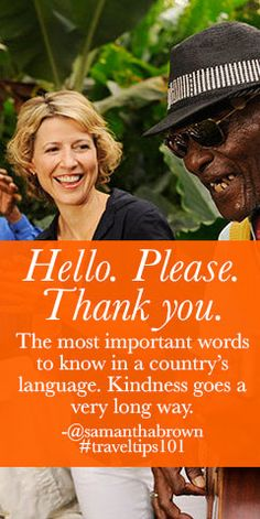 Hello. Please. Thank you. Know them by heart & you're good to go. #travel #traveltips101