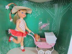 Barbie Vintage Tutti Walking My Dolly Walkin' My Dolly Vintage Doll Gift Set '67 | eBay