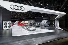 Audi at the MIAS 2014 in Moscow | Schmidhuber