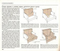 Adoro Artesanato: Capas de sofá