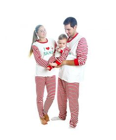 fb07453ae018 Matching Christmas Pajamas For Family With Baby- Stripes Sleepwear - B- mother - C2187CR6GSQ