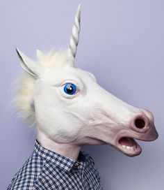 Magic Unicorn Mask / OMG! I want!