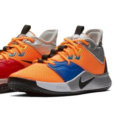 """3bef5c065e07 Sneaker News on Instagram  """"The Nike PG3 is set to debut on 1 19 in this  NASA edition inspired by space travel. For a closer look"""