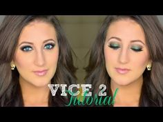 Vice 2 Makeup Tutorial | Green Smoky Eye  Great for fall/holiday season! Pin now watch later!