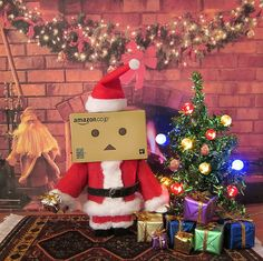 Danbo Claus wishes you a Merry Christmas by MurderWithMirrors, via Flickr
