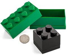 ThinkGeek :: LEGO® Mini Storage Boxes