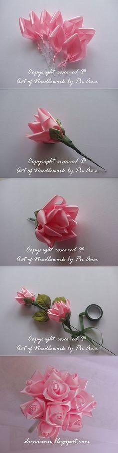 Pack of 10 Jewelled Organza Florist Butterflies Bouquet Craft Picks Fake
