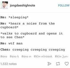 Exo Chen again XD