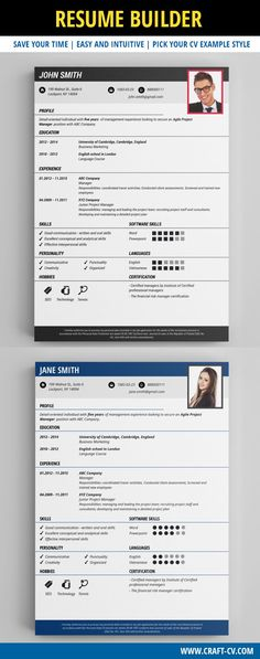 3 Inspiring Visual Resume Examples on SlideShare resume examples - medical assistant resume template free