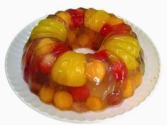EL BREVE ESPACIO: Gelatina rellena de Frutas