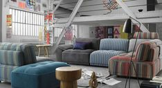 Canapé modulaire Udine - Maison Corbeil